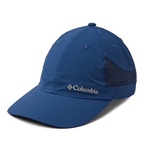 Columbia Tech Shade Hat Gorra, Unisex Adulto, Azul (Carbon), One Size (Adjustable)
