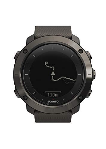 Suunto TRAVERSE Graphite, Reloj GPS outdoor para excursionismo y senderismo, Hasta 100 h de batería, Sumergible, Gris grafito, SS022226000