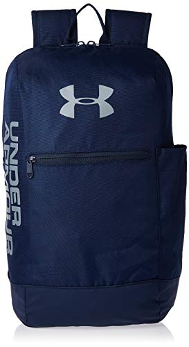 Under Armour Patterson Backpack Mochila, Unisex Adulto, Azul, OSFA