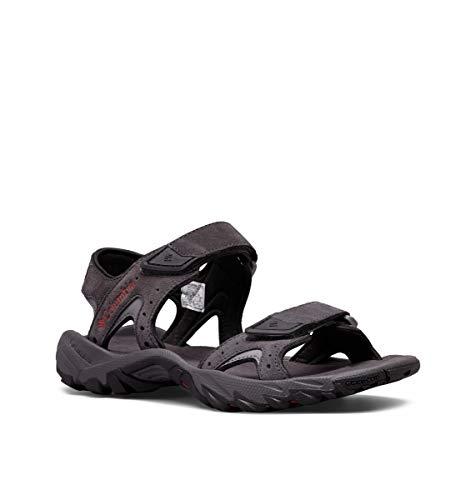 Columbia SANTIAM 2 Strap, Zapatillas para Hombre, Gris (Dark Grey, Rusty 089), 45 EU