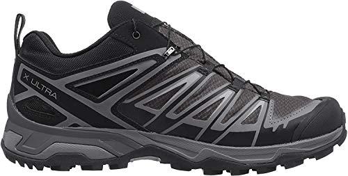 Salomon X Ultra 3 GTX, Zapatillas de Senderismo para Hombre, Negro (Black/Magnet/Quiet Shade), 44 2/3 EU