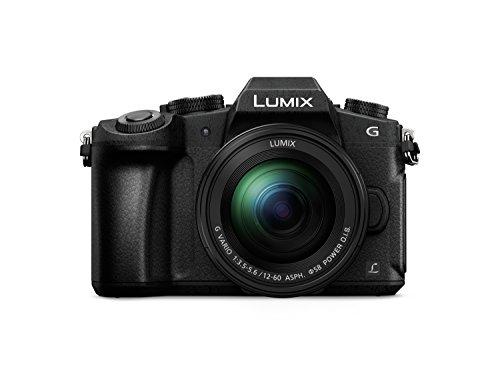 Panasonic Lumix DMC-G80M - Cámara EVIL de 16 MP, Pantalla de 3', Estabilizador Óptico de 5 Ejes, Visor OLED, RAW, Wi-Fi, 4K, Kit con Objetivo Lumix Vario 12 - 60 mm/F3.5-5.6, Color Negro