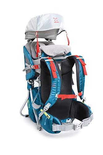 ALTUS - Mochila Portabebés Montaña Arakawa con Soporte Estable, 2,25 Kg | Actividades de Trekking, Urbanas, Viajes | Regulable y Desmontable | Montañismo