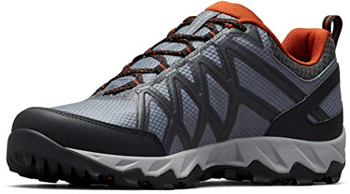 Columbia Peakfreak X2 Outdry, Zapatos de Senderismo, para Hombre, Graphite, Dark Adobe, 42 EU