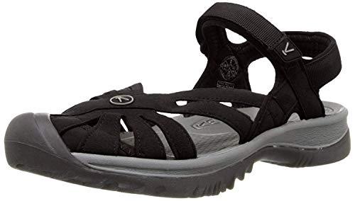 UCZ Rose Sandal, Sandalias de Senderismo para Mujer, Negro (Black / Neutral Grey), 38.5 EU