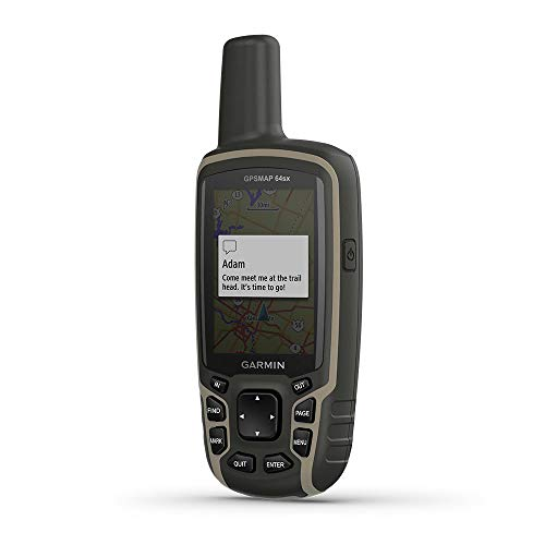 Garmin GPSMAP 64sx rastreador GPS Personal Negro, Verde 8 GB - Rastreadores GPS (TFT, 6,6 cm (2.6'), 36 x 55 mm, 160 x 240 Pixeles, 65536 Colores, 8 GB)