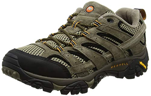 Merrell Moab 2 Vent, Zapatillas de Senderismo para Hombre, Marrón (Pecan), 44 EU