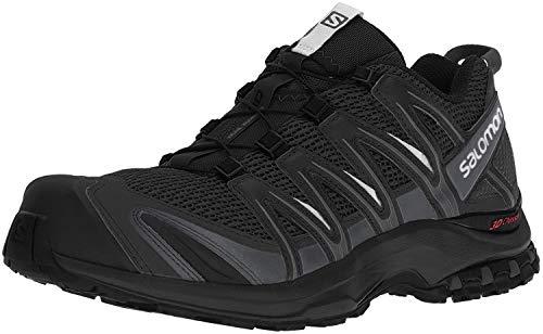 Salomon XA Pro 3D, Zapatillas de Trail Running Hombre, Negro (Black/Magnet/Quiet Shade), 40 2/3 EU