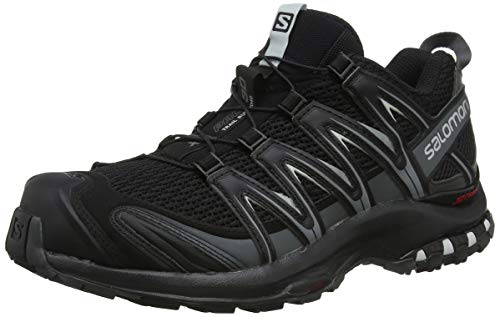 Salomon XA Pro 3D, Zapatillas de Trail Running para Hombre, Negro (Black/Magnet/Quiet Shade), 44 EU