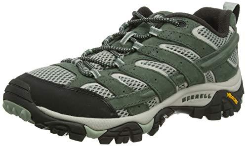 Merrell Moab 2 Vent, Zapatillas de Senderismo para Mujer, Verde (Laurel), 36 EU