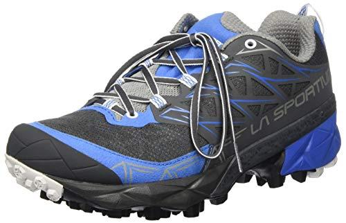 La Sportiva Akyra Woman, Zapatillas de Trail Running Mujer, Multicolor (Carbon/Cobalt Blue 000), 36 EU
