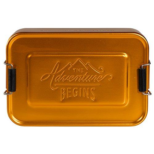 Gentlemen's Hardware Herramienta Multiusos de Equipo para Caballero, Metal, Dorado, 5 x 17 x 11.5 cm