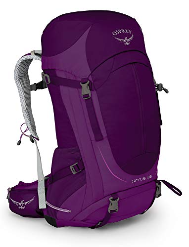 Osprey Sirrus 36 Women's Ventilated Hiking Pack - Ruska Purple (WS/WM)