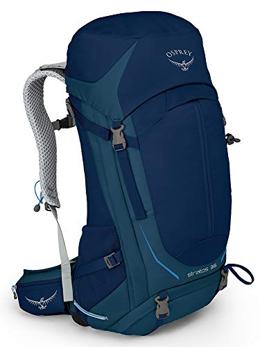 Osprey Stratos 36 Men's Ventilated Hiking Pack - Eclipse Blue (S/M)