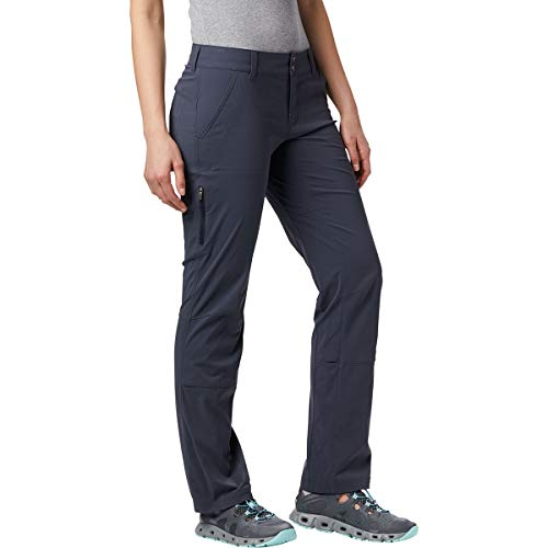 Columbia Pantalón de senderismo para mujer, Saturday Trail Pant, Nailon, Gris (India Ink), Talla W36/R, 1579861