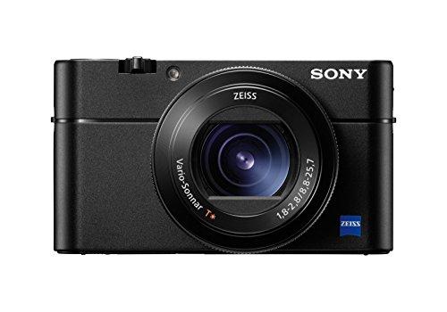 Sony DSCRX100M5.CE3- Cámara compacta (20.1 MP, AF híbrido de 0.05s, vídeo 4K, sensor CMO, 960fps, lente Zeiss), color negro