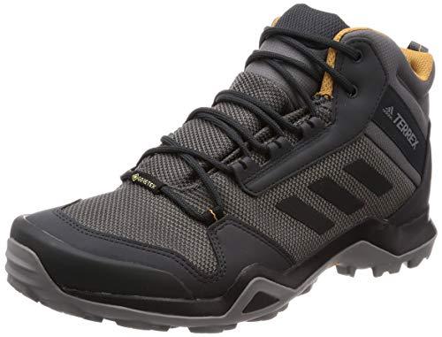 Adidas Terrex AX3 Mid GTX, Zapatillas de Deporte para Hombre, Multicolor (Gricin/Negbás/Mesa 000), 42 EU