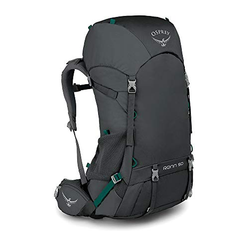 Osprey Renn 50 Women's Ventilated Backpacking Pack - Cinder Grey (O/S)
