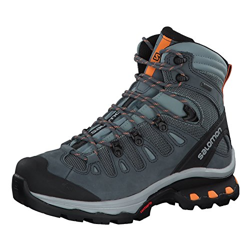 Salomon Quest 4D 3 GTX W, Botas de Senderismo para Mujer, Multicolor (Lead/Stormy Weather/Bird of Paradis 000), 38 EU