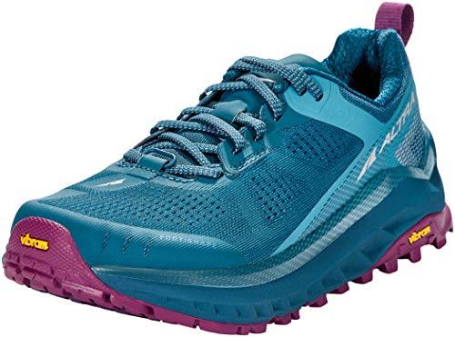 ALTRA Zapatillas de correr para mujer AL0A4VQW Olympus 4, azul (Azul marroquí), 37 EU