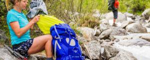 mochila trekking senderismo