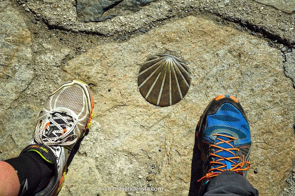 Camino de Santiago, calzado