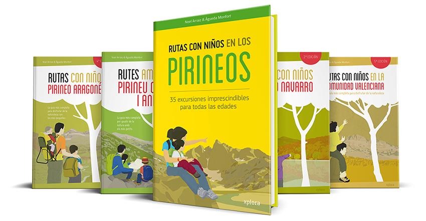 libro rutas en pirineos con niños