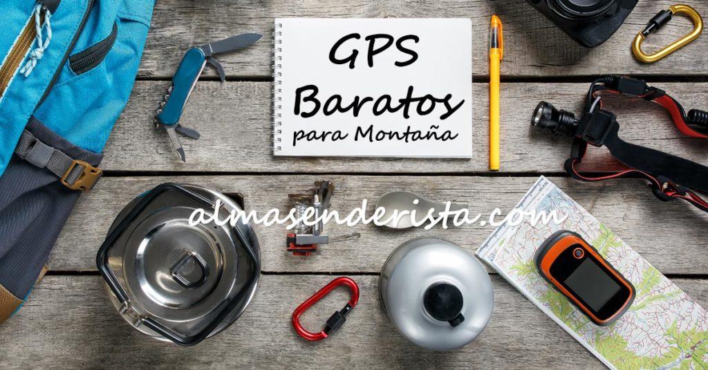GPS de Montaña Baratos