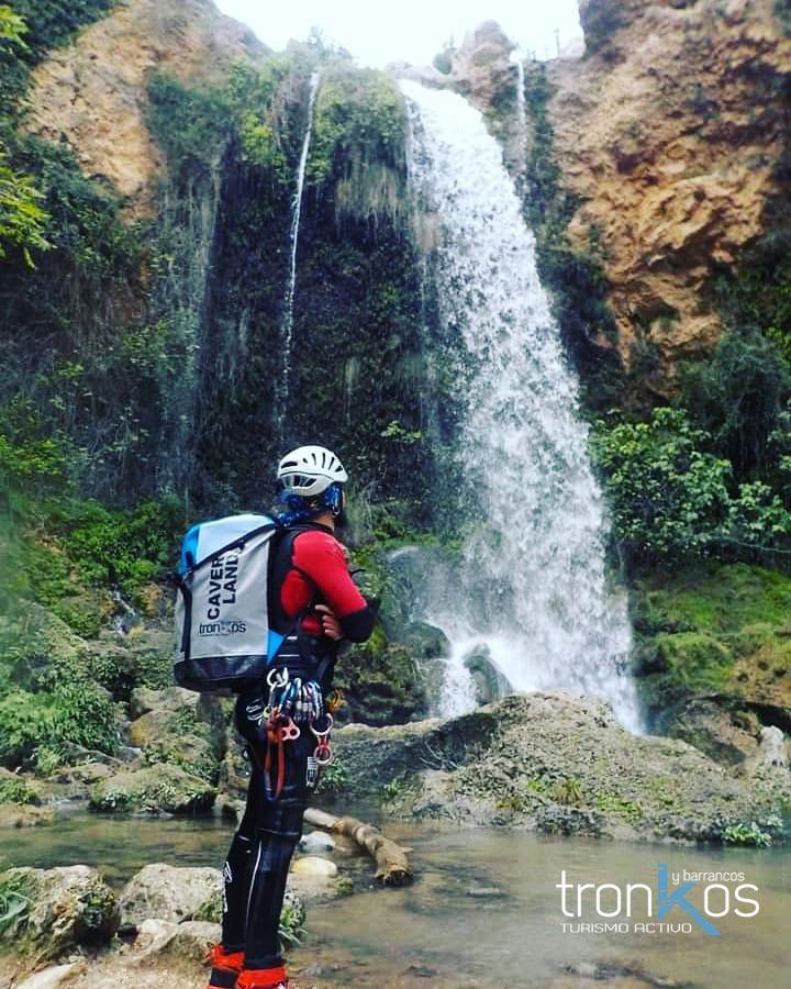 Barranquismo - descenso de barrancos - Tronkos y Barrancos