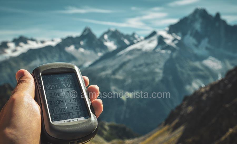 GPS montaña Garmin Oregon