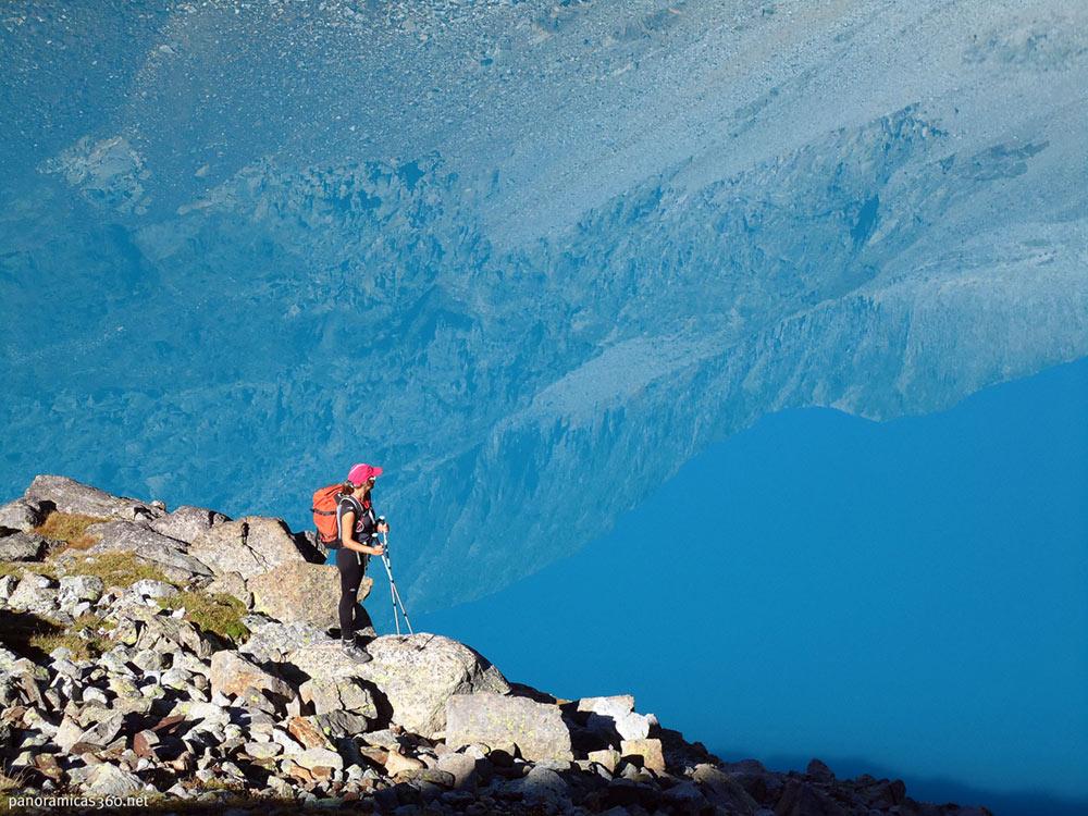 Equipo alpinismo ascender tresmiles