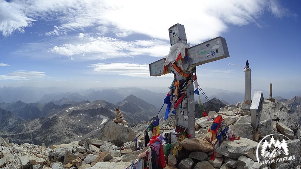 Subida Pico Aneto Pirineos