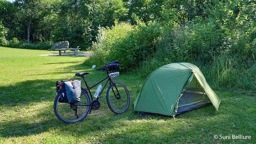 Suni Belliure, viajar en bicicleta, cicloturismo